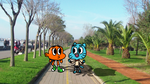Gumball And Darwin In Real Life by BlueLight439