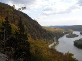 Delaware Water Gap 2 by diluted47