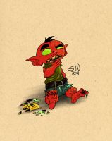 A Goblin Ate My Crayons by 3Fangs