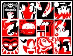 Red and Black Compositions by yooki42