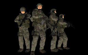 SEAL TEAM 6 mmd only by 32Rabbit