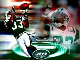 Santana Moss Jets Throwback by BDawg9