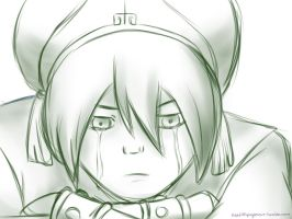 Toph Sketch by akllozz