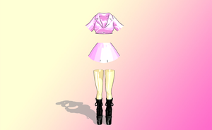 [[MMD]] Dolly Dreams utfit by amiamy111