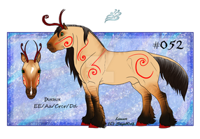 052 Red Dunskin Stallion by Kayosa
