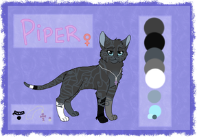Piper ref commission by MlSTY