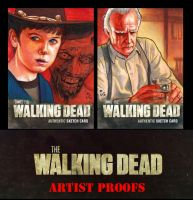 THE WALKING DEAD Season 2 Artist Proofs by MJasonReed