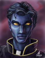 Nightcrawler Portrait by JillJohansen