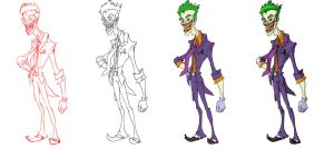 The Joker ( steps ) by San9afis
