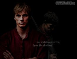 Watching from the shadows by MagicalPictureMaker