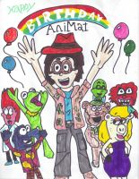 Happy Birthday AniMat by SonicClone
