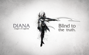 League of Legends Wallpaper - Diana by deSess