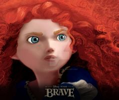 Brave - Merida by fire-bender-saiyan