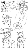 :AFO: Sketches C: by SnookumsGal