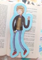 Dr John Watson/Adventure Time bookmark by EvaHolder