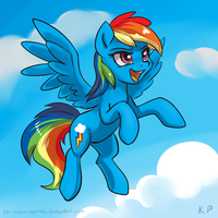 Speedpaint 05 - Rainbow Dash by KP-ShadowSquirrel