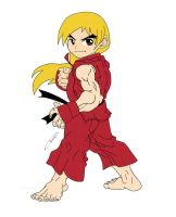 Ken Masters Jr. by Poptart-Kitty