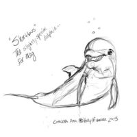 Shortbus : Dolphin Goofball by autumnalangel