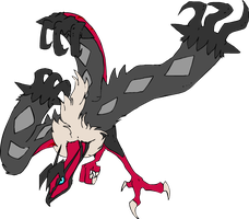 a wild yveltal appeared by mechanicalmasochist