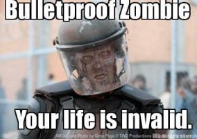 Swat Zombie by UltimaWeapon13