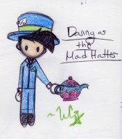 Mad Hatter-Danny by WickedGhoul