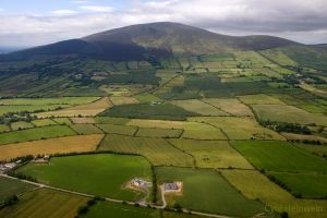 Slievenamon -aerial by Cyril-Helnwein