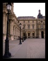 Louvre lampposts by wrenchy