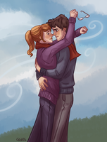 harry and ginny by ggns