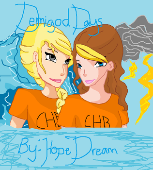 Demigod days book cover, Hope Dream by dianaolympia77
