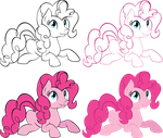 4 Shades of Pinkie by TheShadowStone