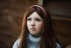 Depravity Falls - Mabel Pines by Dallexis-Jack