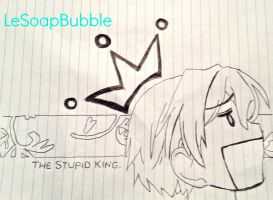 OHSHC: the king. by LeSoapBubble