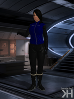 Ashley Williams Winter Outfit (XPS) by Grummel83
