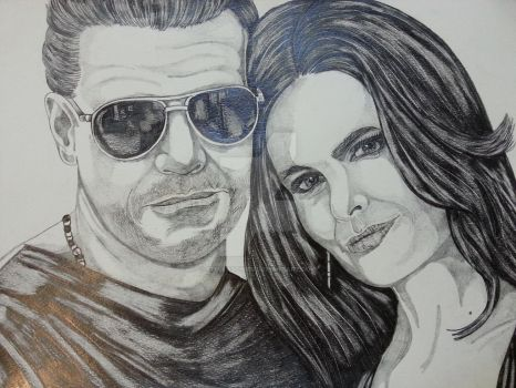 Booth and Bones #Bones Team Awsome by stellaschmn