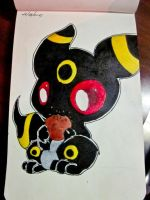 Chibi Umbreon by Taskmc