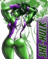 She-Hulk3 by Claret by Claret821021