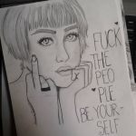 Fuck The People Be Yourself! by Huiolla