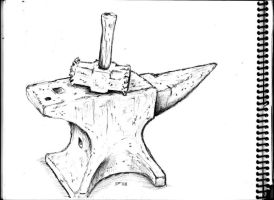 Hammer and Anvil by BROKENHILL