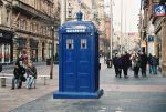 Police Box In Glasgow by brian4830