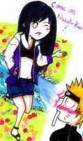 NaruHina- road to ninja by desiderata-girl