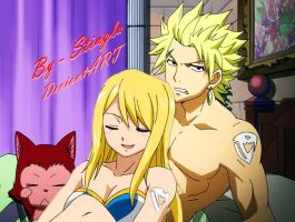 Sting and Lucy Time to Sleep by Stinglu