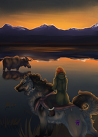 Rite of Fortitude: Unexpected Visitors by Kieath