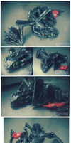 Toothless Sculpture by Gamibrii