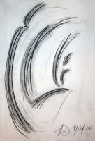 Charcoal Abstract 09 by guardian-of-moon