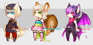 Collab adoptables for auction [CLOSED] by ZenithOmocha