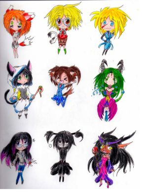 Chibi 4-females