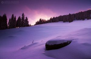 frozen sunset by adypetrisor