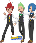 Cilan Chili and Cress (XY 2) by Gamer5444