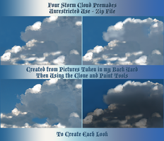 Storm Cloud Zip Pack by WDWParksGal-Stock