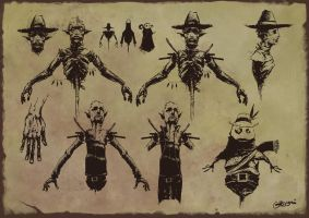 scarecrow sheet by gregorKari